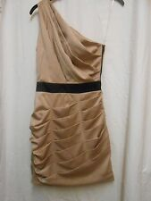 ladies LIPSY gold/ black  dress, size 6 Christmas party/New Year