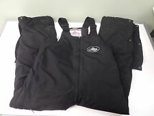 CHOKO SNOW SUIT BIBS OVERALLS THINSULATE SNOWMOBILE RACING BIBS MENS L