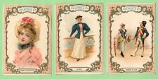 3  IMAGES ANCIENNES CHICOREE ARLATTE LAPIN COQUELICOT MER