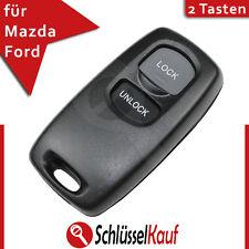 Mazda Schlüssel Gehäuse BT50 3 6 Ford Ranger Fernbedienung Remote Fob Auto Neu
