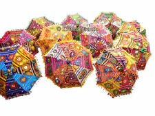 wholesale lot 150 Pcs Traditional Indian Parasol RAJASTHANI UMBRELLA Embroiderd