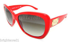 Authentic VERSACE Red Sunglasses VE 4250 - 256/11 *NEW*