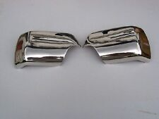 RANGE ROVER L322  - CHROME DOOR  MIRROR COVERS  02-05 S/STEEL