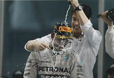 Toto Wolff Hand Signed 12x8 Photo Mercedes AMG Petronas F1 5.