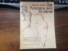 The Natural Way to Draw by Kimon Nicolaides Softback Reprint