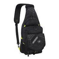 Spiderwire Black Sling Tackle Bag 1 Medium Utility Box Fresh Salt Fishing 5A8