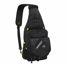 Spiderwire Black Sling Tackle Bag 1 Medium Utility Box Fresh Salt Fishing 5A8