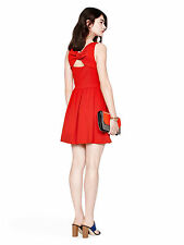 kate spade Kate spade Ponte Bow Back Dress in Red 16 XL 1X