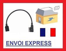 Cable auxiliaire aux adaptateur mp3 AMI USB pour mercedes CLASSE E M R S gratuit