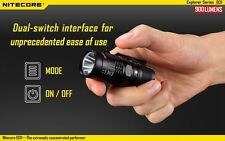 Nitecore EC11 900 Lumens Brightest Mini Cree XM-L2 U2 LED Flashlight