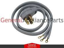 Whirlpool Maytag Kenmore 6' 3 Prong Clothes Dryer Pwr Cord 687104 694044 694045