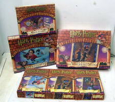 Set of 6-HARRY POTTER Puzzles & Board Games-MAGIC PUZZLE/QUIDDICH/MORE (M1044FD)