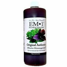 EM 1 Quart Microbial Inoculant Organic Soil Conditioner