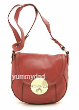 MIMCO HUSTLER HIP LEATHER BAG IN BRIGHT CORAL BNWT RRP$399