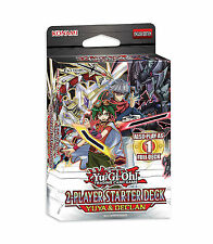 YU-GI-OH CARDS: YUYA & DECLAN 2 PLAYER STARTER DECK 2015 - NEW & SEALED - 1 DECK