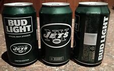 New York JETS 2016 Bud Light NFL kickoff can - Limited Edition CAN