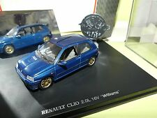 RENAULT CLIO 2.0L 16V WILLIAMS UNIVERSAL HOBBIES 1:43