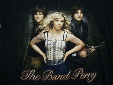 THE BAND PERRY 2011 Concert Tour AUTOGRAPHED T Shirt S