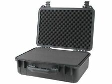 "18"" Weatherproof Hard Shell Case For DSLR HD Camera with Pelican 1500 Pluck Foam"