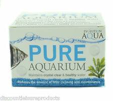 Evolution Aqua Pure Aquarium 50 Balls Clear Water Fish Tank Start Up Treatment