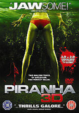 New Piranha 3D (DVD, 2010) fast dispatch