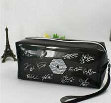 Pink Flossy FAN MADE GOOD Exo overdose pencil case ghwakeup-bag KPOP Brand sag0