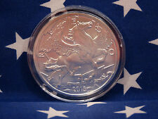 2013 Pegasus Horse 1 Troy Oz .999 Solid Silver Round Coin Encapsulated US Lot 1A