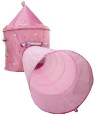 Large Princess Castle With Tunell - UV Protection - RRP £59.99 now only £29.99