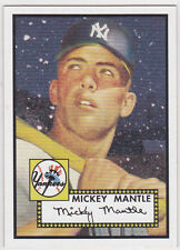 MICKEY MANTLE Topps Baseball REPRINT ROOKIE CARD Insert Baseball RC NY YANKEES!