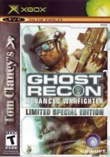 XBOX Tom Clancy's Ghost Recon: Advanced Warfighter Video Game SPECIAL EDITION
