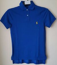 BNWT MENS POLO RALPH LAUREN CUSTOM SOLID MERCERISED POLO SHIRT/TOP SIZE XSMALL