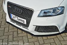 Sonderaktion Spoilerschwert Frontspoilerlippe Cuplippe aus ABS für Audi RS3 8P