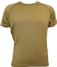 GI PCU level 1 Lycra T-shirt short sleeve Medium reg Coyote Brown Military SFI