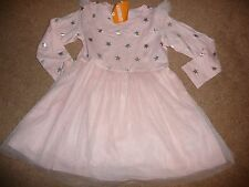 NWT GYMBOREE SIZE 3T STARRY NIGHT PINK TULLE TUTU STAR DRESS NEW FOR 2016 NEW