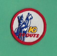 ORIGINAL 1970'S KANSAS CITY SCOUTS EMBROIDERED NHL HOCKEY PATCH