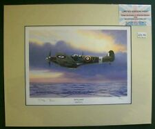 Limited Edition Aviation Mounted Print Spitfire Legend by Stephen Brown 4/25