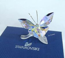Swarovski Sparkling Butterfly, Leaf Crystal Authentic MIB 1113559