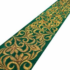 7.62 Cm Green Velvet Fabric Trim Sewing Craft Supply Decorative By The Yard