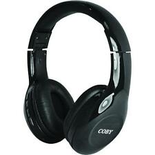 Coby CHBT-705-BLK Scope Wireless Bluetooth Over-The-Ear Headphones