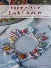 LIVRE/BOOK : BIJOUX A FAIRE SOI MEME (vintage style,perles,beads,jewellery