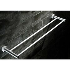 60cm Space Aluminum Bath Towel Rack Bathroom Accessories Towel Bar Holder