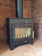 Saltfire ST1 Wood burning Stove 5 KW Fitted with 8 metre Liner kit