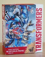 NEW Hasbro Authentic Transformers Optimus Prime First Edition Action Figure Toy