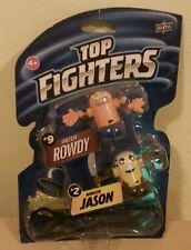 Top fighter ROWDY + JASON personaggi nuovo blister monster restler action figure