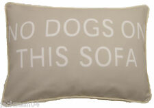 """FILLED EVANS LICHFIELD NO DOGS ON THIS SOFA MADE IN THE UK CUSHION 18"""" X 13"""""""