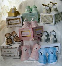 "Carte / papercraft baby shoetemplates CD: ""Chaussures fantaisie"" frandor formats cd424"