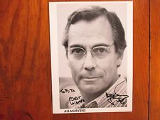 "ALLAN  BYRNS(""Dallas/Valley of the Dolls/Police Woman"")Signed 8 x 11 B & W Photo"