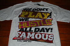 "NEW Famous Stars and Straps ""Hustle All Day"" T-Shirt (Large)"