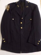 NYPD UNIFORM JACKET COAT OBSOLETE NEW YORK CITY Merson Uniform HOLLOWEEN VINTAGE