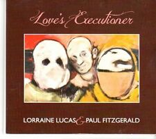 (DN616) Lorraine Lucas & Paul Fitzgerald, Love's Executioner - 2011 DJ CD